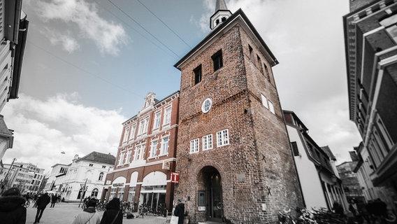 View of Laban, the main landmark of Oldenburg.  © NDR Photo: Julius Mathews