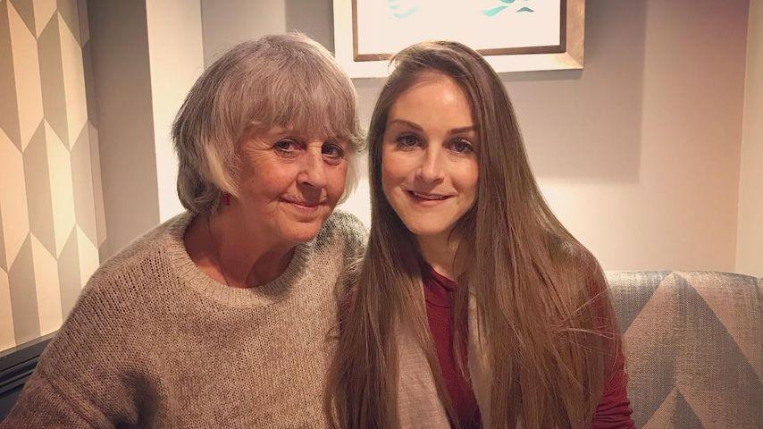 Nikki Graham and her mother, Sue, 2017