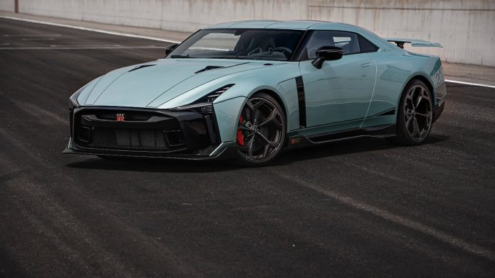 Wild Godzilla Party: Nissan GT-R50 - from monster to monster