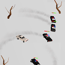 Survival Derby 3D - car racing and running game