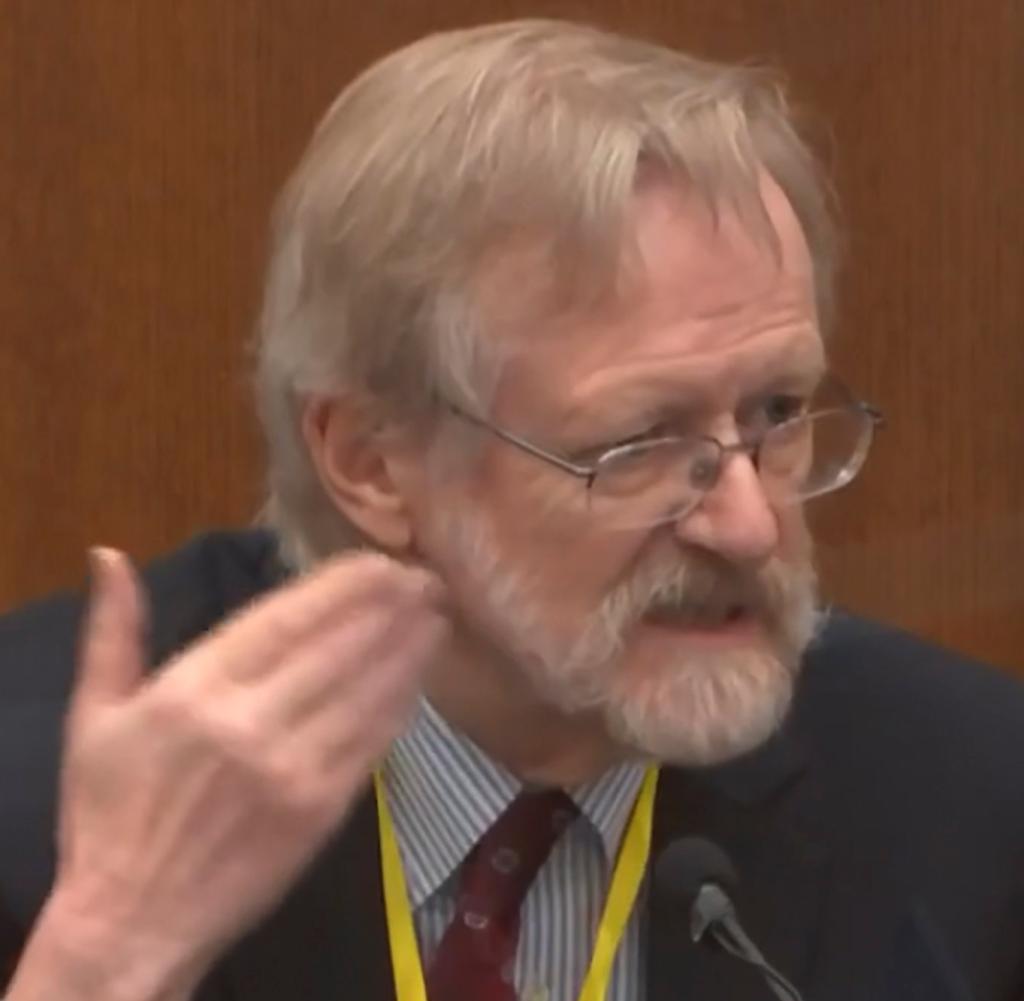 Martin Tobin testified that Floyd died of hypoxia