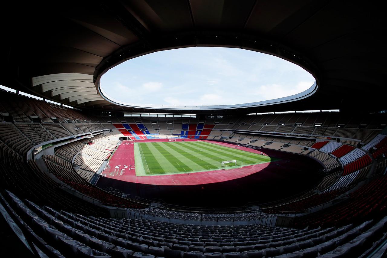 Anciச்n des La Cartouza Stadium in Seville