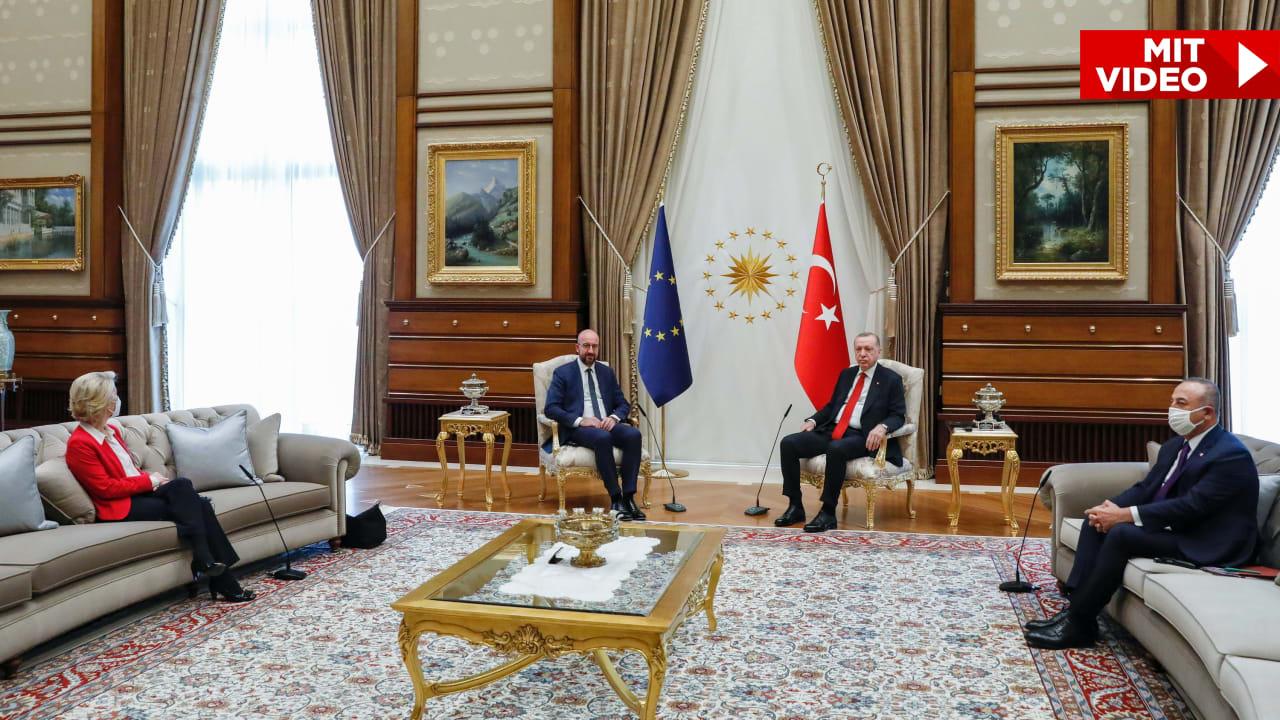 European Union / Turkey: Von der Leyen criticizes Erdogan for the human rights situation - politics