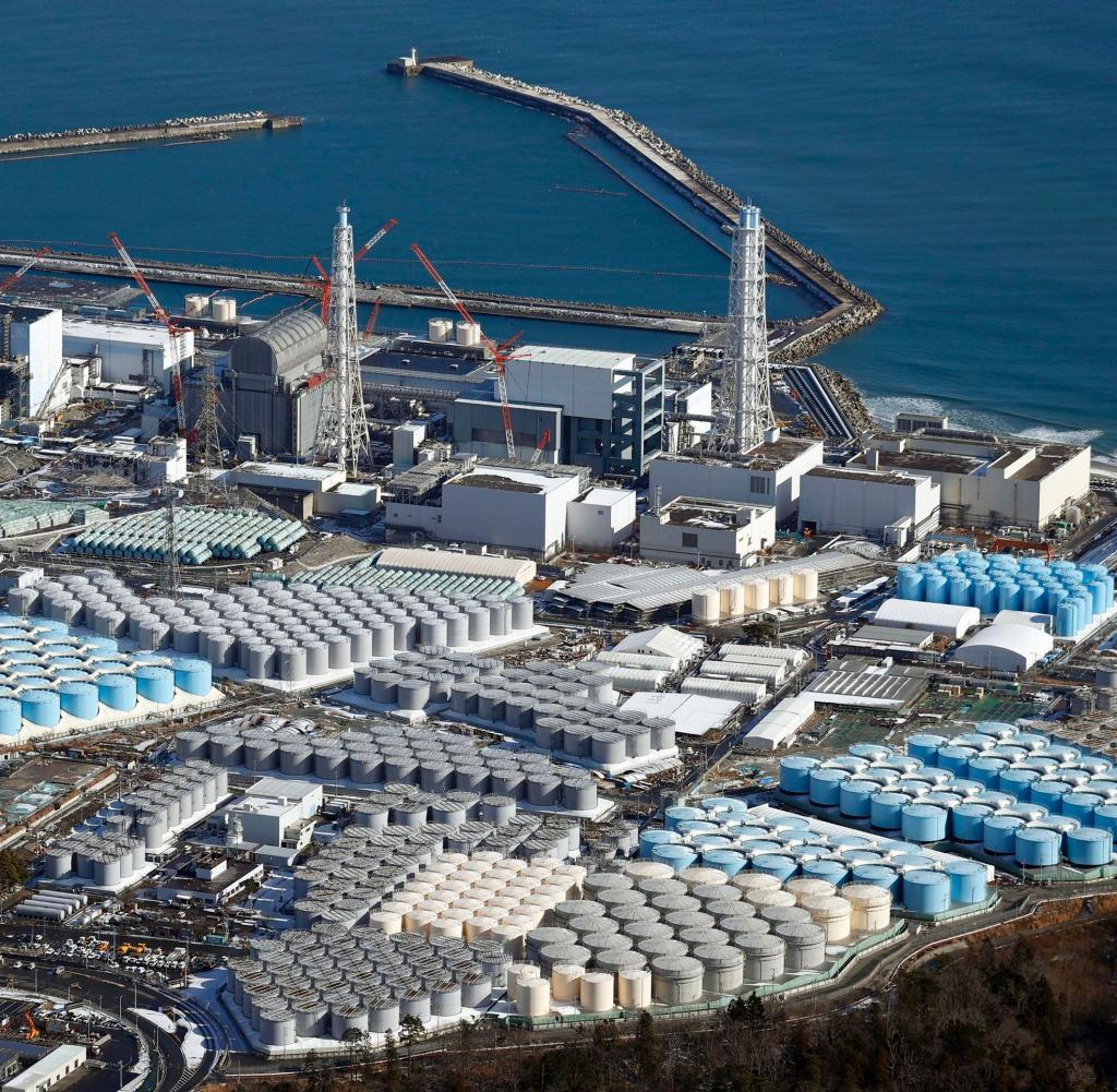 Currently, about 1.25 million tons of water is stored at the Fukushima facility