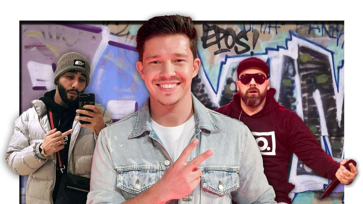 Niko Santos is again involved in German rap - there's also Samra and Siddo