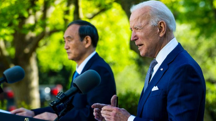 The United States government guarantees Japanese defense aid