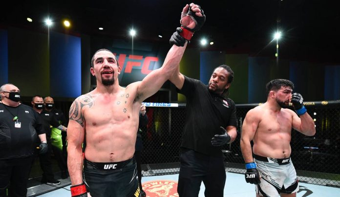 UFC: Robert Whittaker Bizwing Kelvin Gastelum