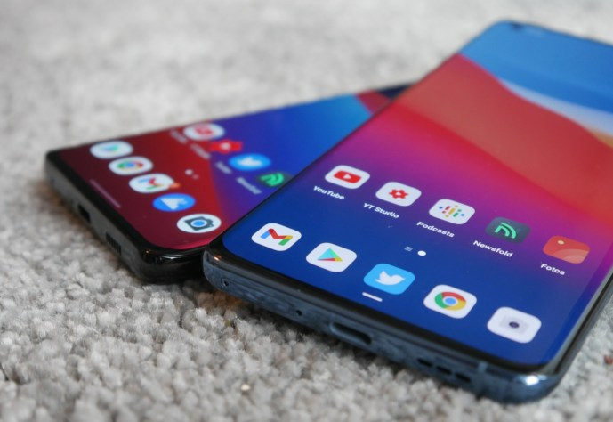 Samsung Galaxy S21 Ultra Oppo Find X3 Pro Apps