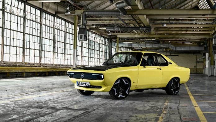 Electrical Classics: Opel Manta GSe - Electro Replication