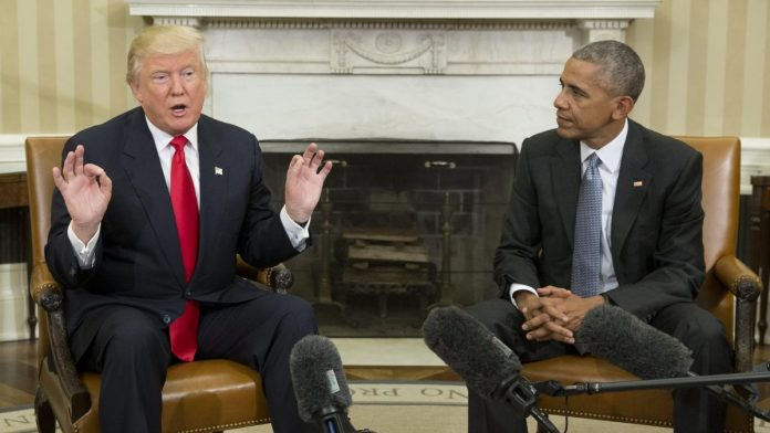 It is said that Barack Obama rudely insulted Donald Trump
