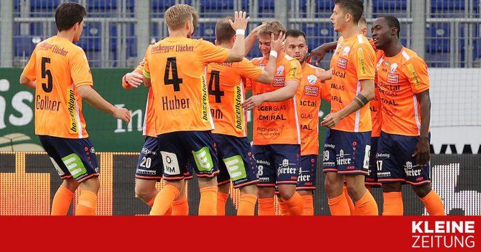 St. Pölten - Hartburg 0: 1: Hartburg defeated St. Pölten and returned home on Monday «kleinezeitung.at