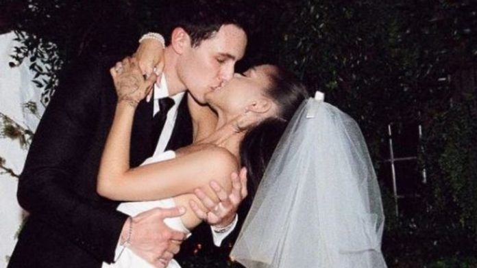 After the Secret Wedding: Ariana Grande shows off her wedding photos