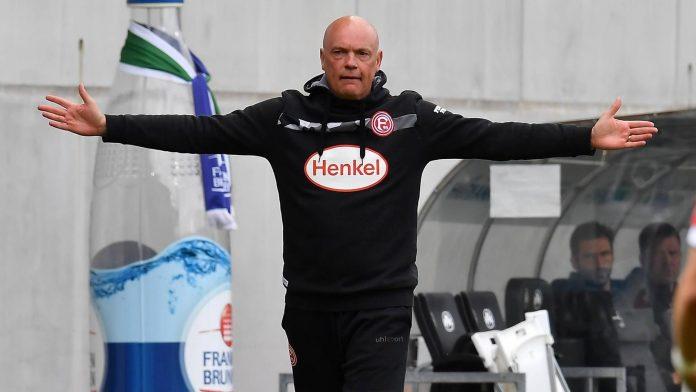 Fortuna Dusseldorf has split from coach Rossler