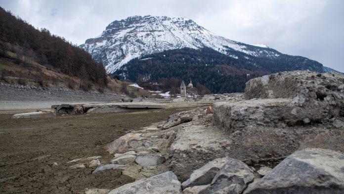 Italy: Geisterdorf was submerged in Lake Reschen for ten years