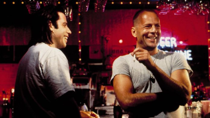 John Travolta and Bruce Willis: Joint Shooting After 27 Years of 'Pulp Fiction'