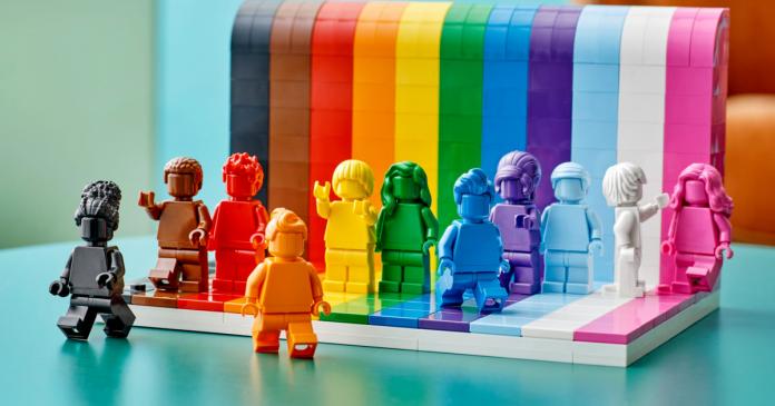 Lego announces a diverse world