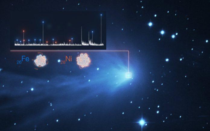 Nickel and iron in comet atmospheres
