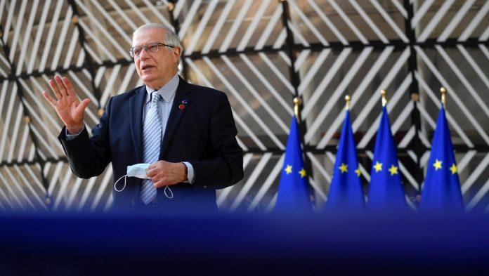 Russia rejects landing - European Union announces examination