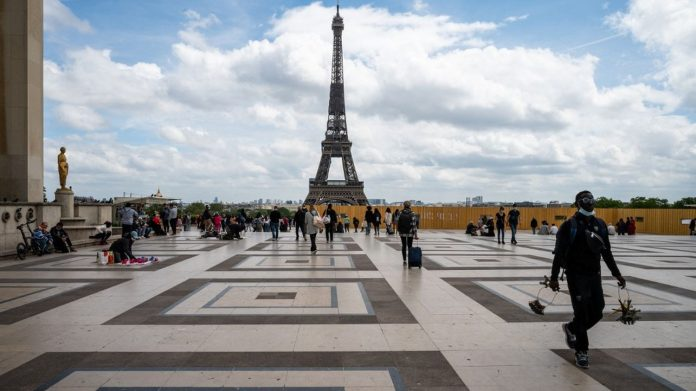 The Eiffel Tower will reopen to the public on July 16