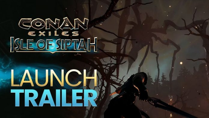 The launch of the zu Isle of Siptah trailer