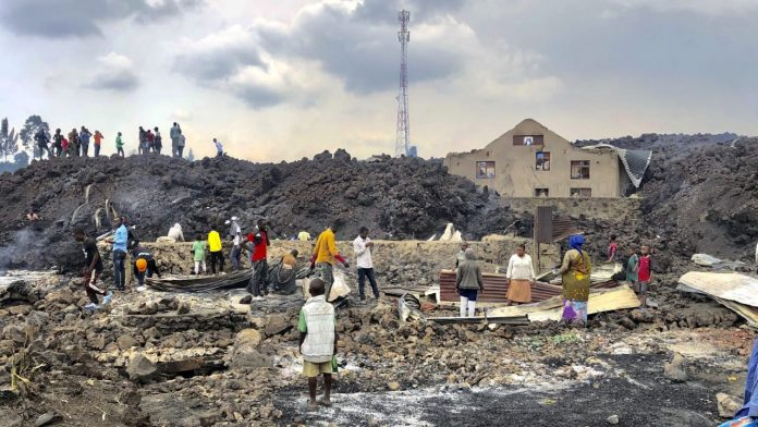 Volcanic eruption in Congo: 170 children missing - news abroad