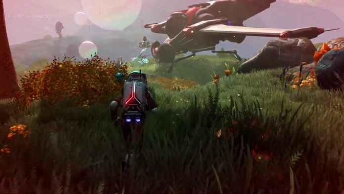 No Man's Sky - Post Update Improves Game Graphics