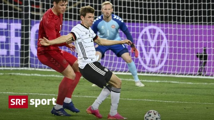 Positioning before the European Nations Cup - Germany with a draw - England win - sports