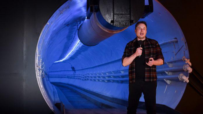 Boring company: Elon Musk's Las Vegas tunnel begins work