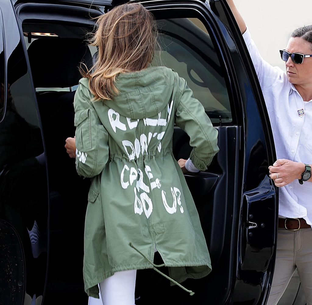 Melania Trump received heavy criticism in 2018 for her looks