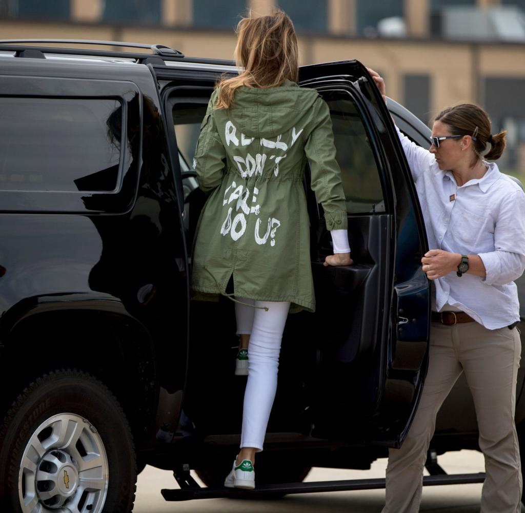 Melania Trump jacket: How much punk is in statement fashion today?