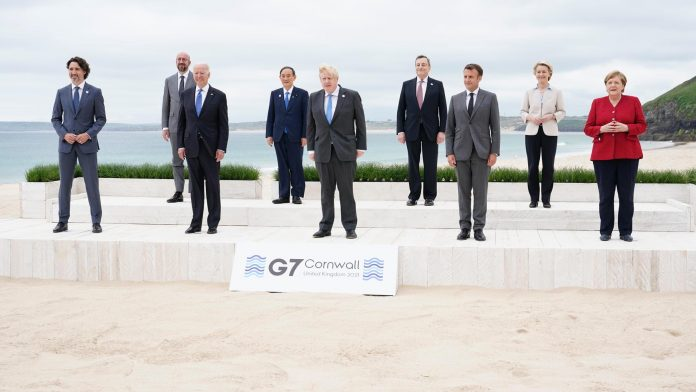 The criticism of the G7 summit in Cornwall is not enough