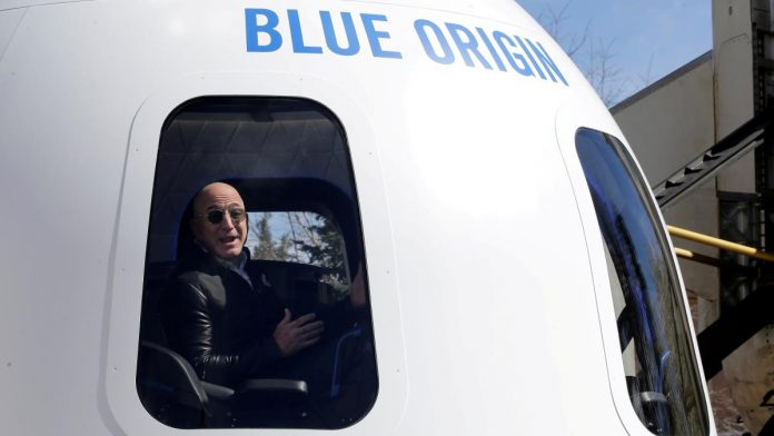 Tickets Auctioned: For $28 Million In Space With Amazon CEO Jeff Bezos