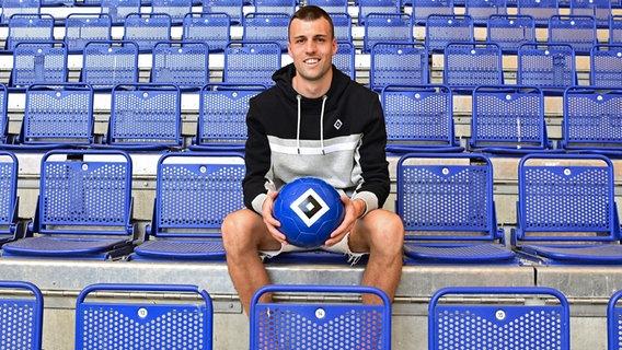HSV's Jonas Meffert © Witters