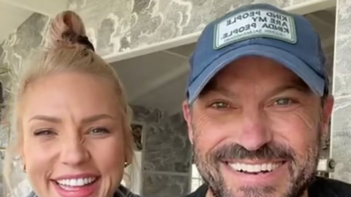 Brian Austin Green and Sharna give the couple's first interview