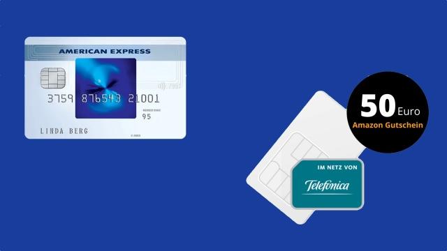 Ein interessantes Bundle aus Kreditkarte, LTE-Allnet-Flat und Amazon-Gutschein.