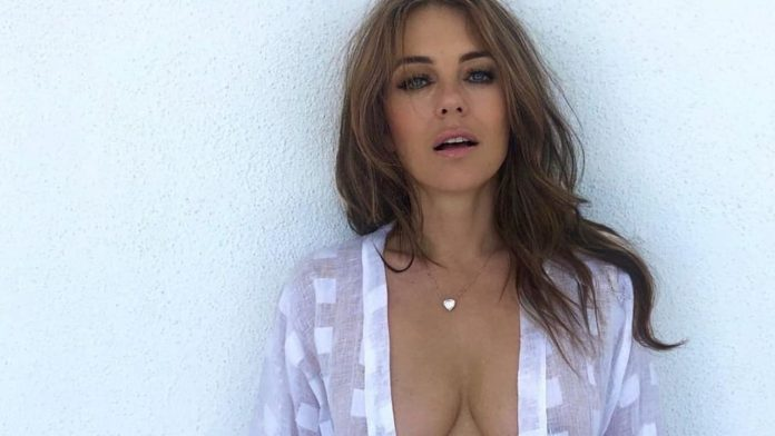 Liz Hurley (56) - Of course, without a bra - people