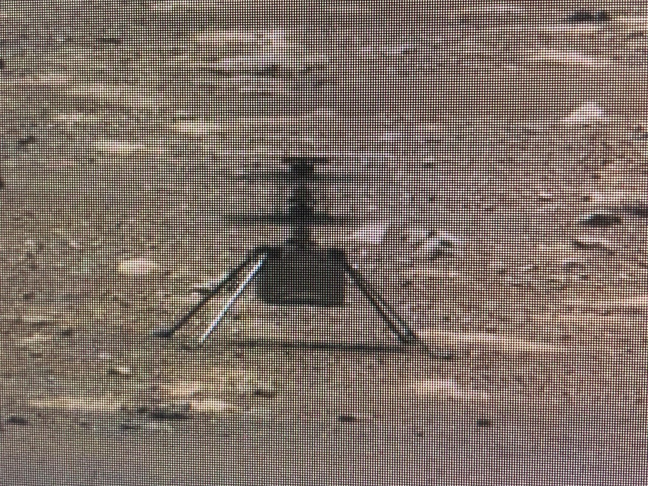 Mars helicopter on Earth