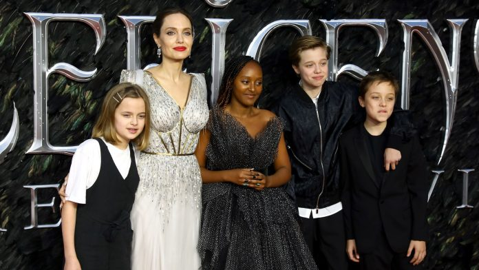 Angelina Jolie angry: Children wanted to testify in court