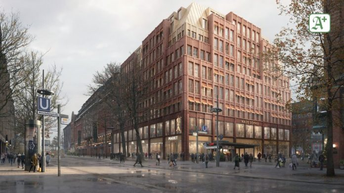 C&A Mönckebergstrasse is being demolished - a stunning new building