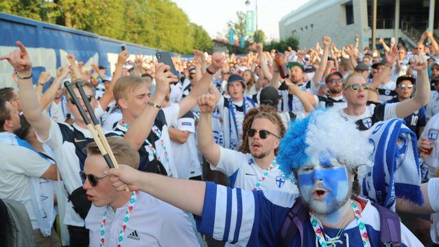 EM - Small chance, great joy: Finland celebrates despite defeat