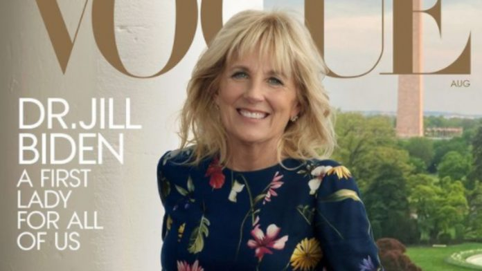 First Lady on Cover: Vogue honors Jill Biden with cover photo