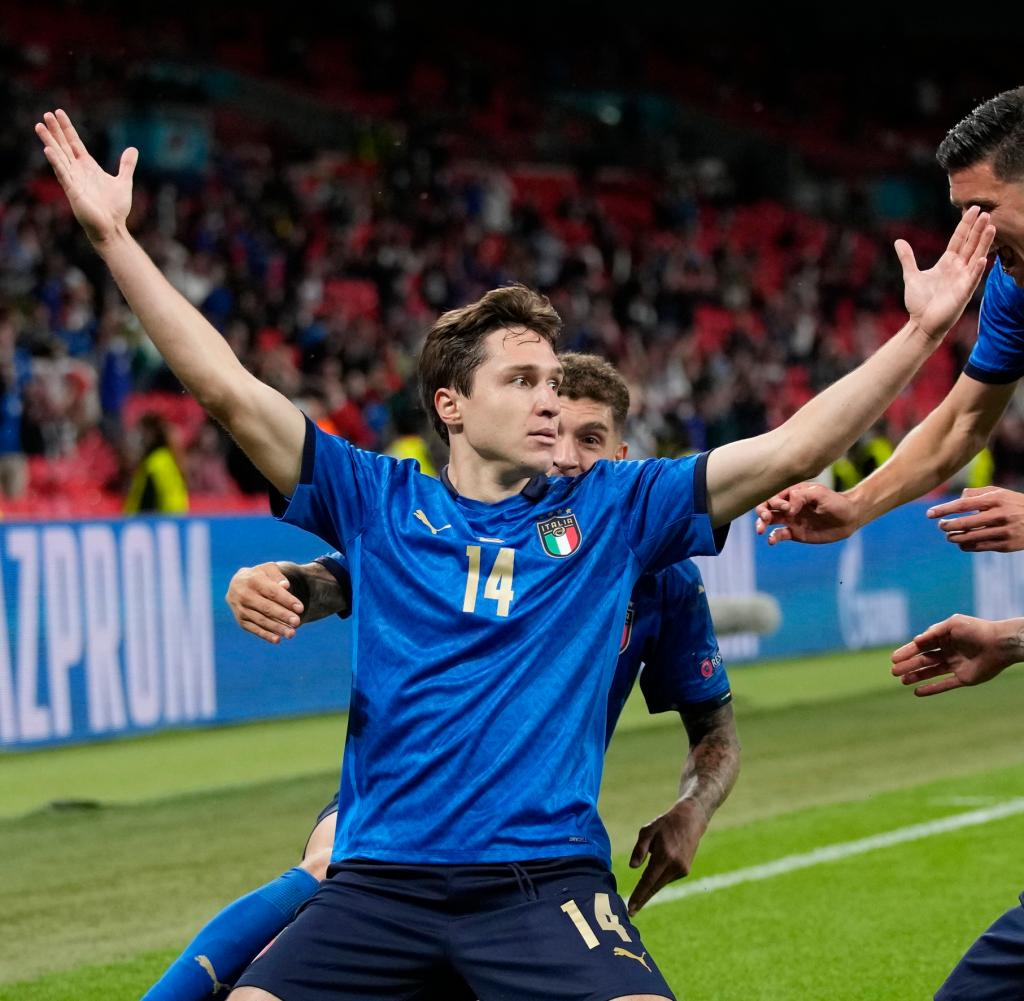 Football Britain Italy Austria Euro 2020
