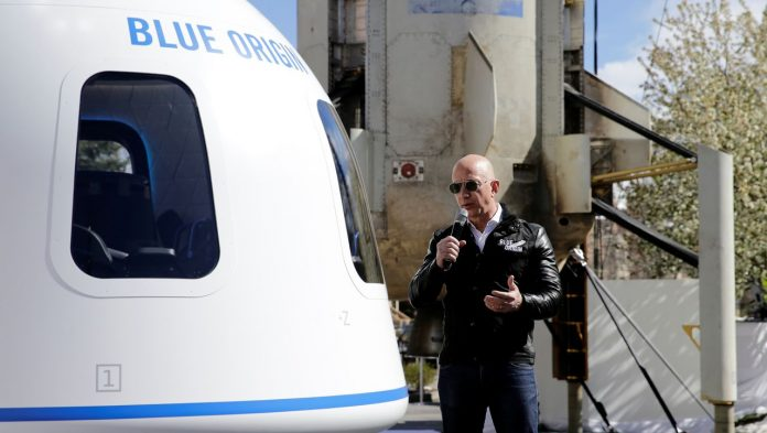 Jeff Bezos wants to be shot in space in July