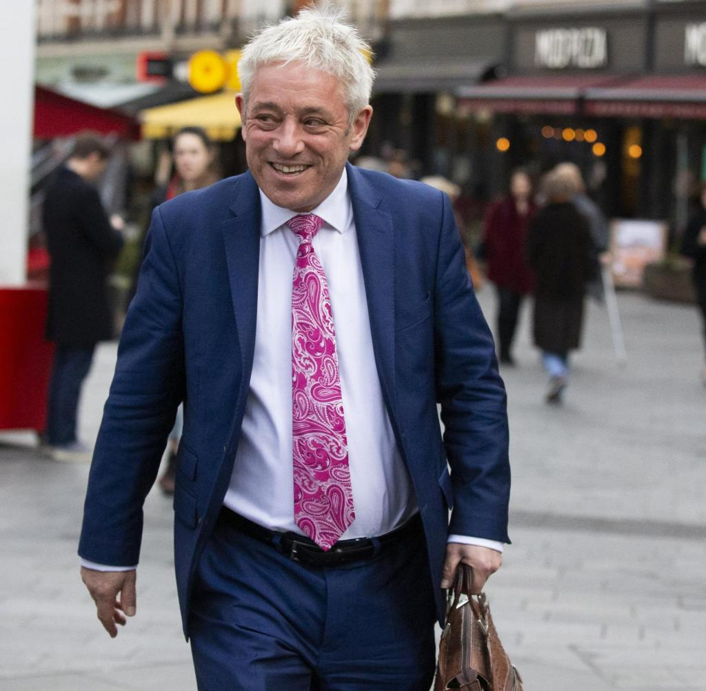 John Bercow, 58, leaves the Conservative Party and joins the Labor Party