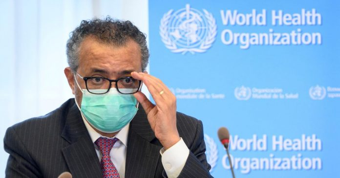 Just give us vaccinations as the World Health Organization is pleading while poor countries stand ready