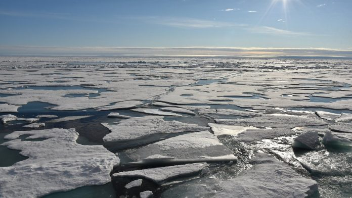 Much faster than expected: the Arctic is threatened by massive ice melt