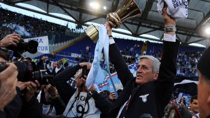 Nati's coach Vladimir Petkovic has returned to the former living room