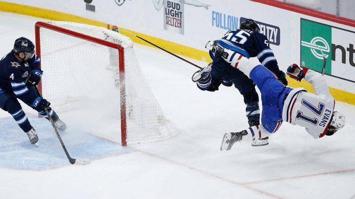 Player still motionless: NHL's brutal selection shocked
