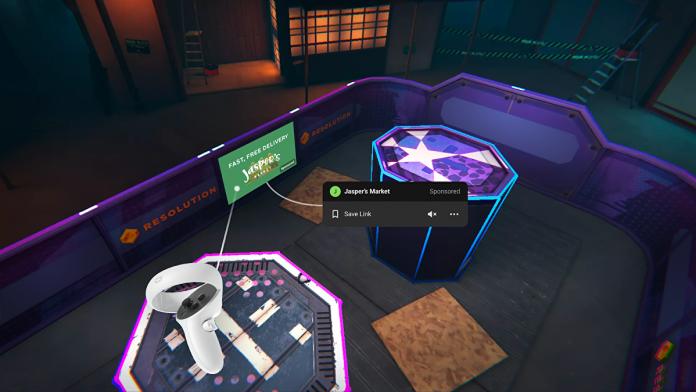 Sending angry crowd outside, Facebook tests ads in Oculus headset • Eurogamer.de