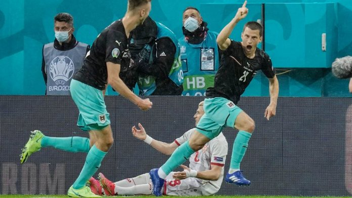 'Stay strong': Austria's top scorer Leiner sends a message to Eriksen